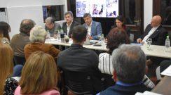 """Cátedra del encuentro: Peppo aseguró que la salida a la crisis es """"el acuerdo básicos y progresivo entre representantes"""""""