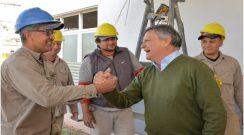 """Peppo: """"En Machagai hay una inversión de más de $ 100 millones del gobierno del Chaco"""""""