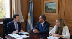 Capitanich acordó asistencia financiera y obras de infraestructura con ministros nacionales
