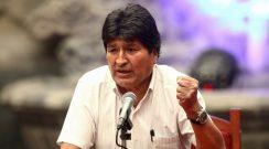 Evo Morales criticó al Gobierno de Bolivia desde Argentina