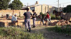 Sáenz Peña: vecinos del barrio 50 Viviendas preocupados por la presencia de usurpadores