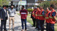 En el marco del convenio de colaboración con el Municipio, se presentó la guardia de prevención de Bomberos Voluntarios