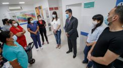 El gobierno inauguró las refacciones del Centro de Calud del Complejo Gran Toba