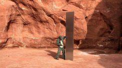Desapareció el extraño monolito que descubrieron en el desierto de Utah