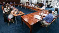 Primera reunión de gabinete El Gobernador y los ministros planificaron las políticas públicas prioritarias para el 2021