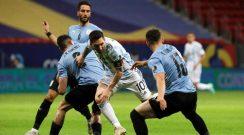 Argentina logró su primer triunfo en la Copa América