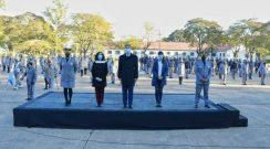 El gobernador Capitanich anunció ascensos, obras y aumento salarial y entregó vehículos para el Servicio Penitenciario