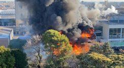 Grave incendio en la planta de la Cervecería Quilmes: no hay heridos